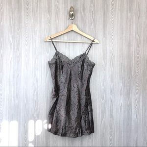 NWT Victoria's Secret Lace Trim Satin Slip Dress